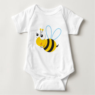 ABC Animals Betty Bee Baby Bodysuit