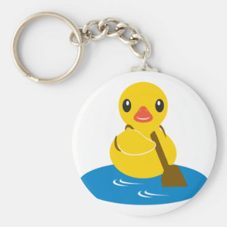 ABC Animals - Paddle Duck Key Ring