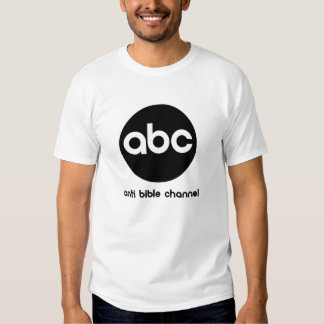 ABC Anti Bible Channel Tees