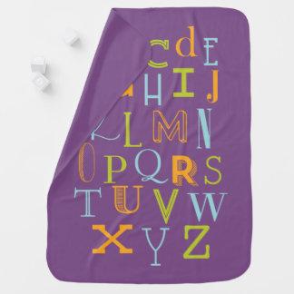 ABC Baby Blanket, Alphabet Baby Gift Baby Blanket