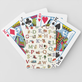 ABC BICYCLE PLAYING CARDS