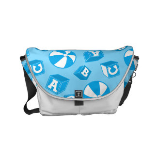 ABC blocks and balls Commuter Bags