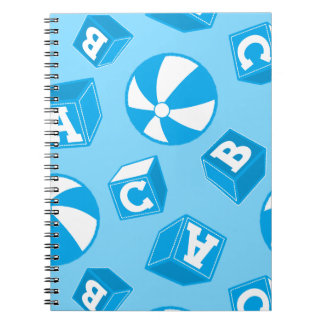ABC blocks and balls Notebook