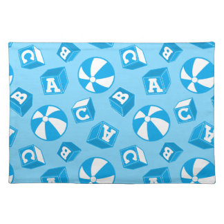 ABC blocks and balls Placemat
