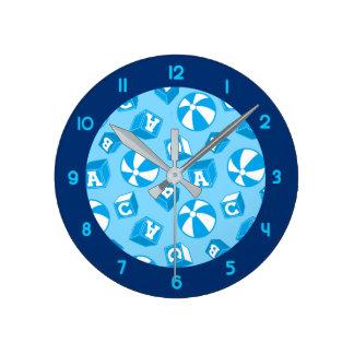 ABC blocks and balls Round Clock