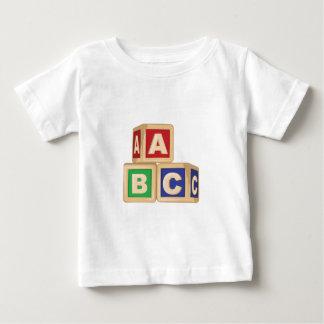 ABC Blocks Baby T-Shirt