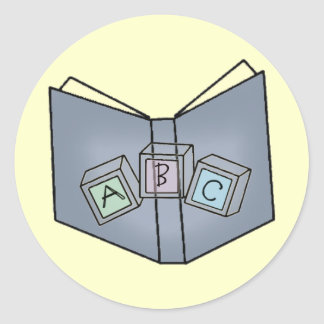 ABC Blocks Book Fun Stickers