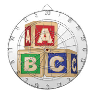 ABC Blocks Dart Board