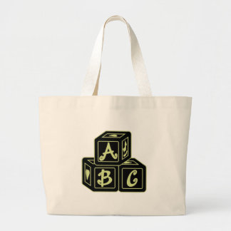 ABC Blocks Canvas Bag