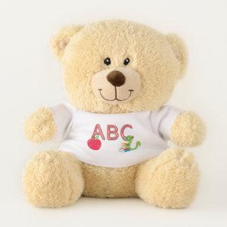 ABC Bookworm Teddy Bear