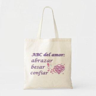 abc del amor bags