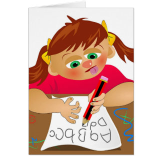 Abc Girl Card