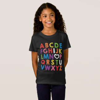 ABC I Love You Kindergarteners Tee Shirt