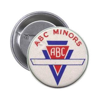 ABC Minors badge - white