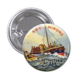 ABC MINORS BAGE - ACTIVITIES AT SEA 3 CM ROUND BADGE