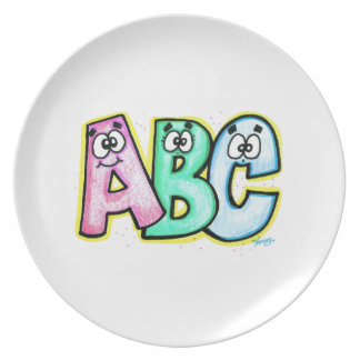 ABC Plate for kids