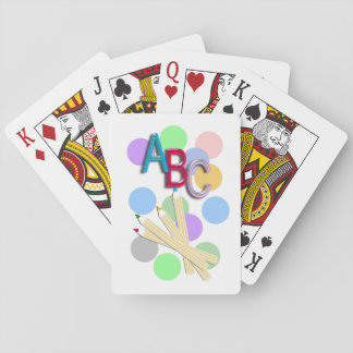 ABC PLAYING CARDS