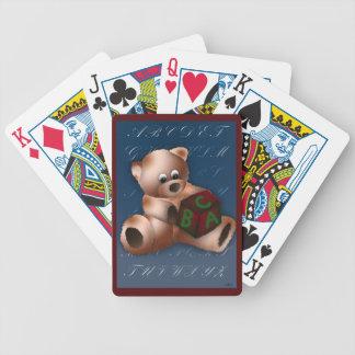 ABC TEDDY BEAR POKER DECK