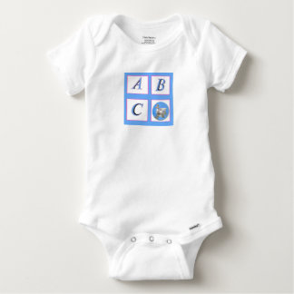 abc window pain ducks baby onesie