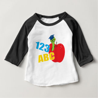 ABC Worm Baby T-Shirt