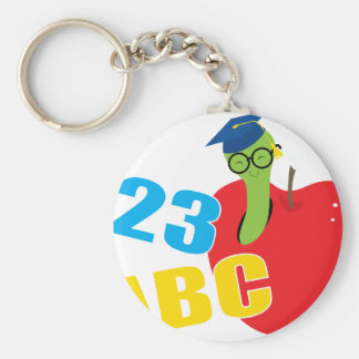 ABC Worm Key Ring