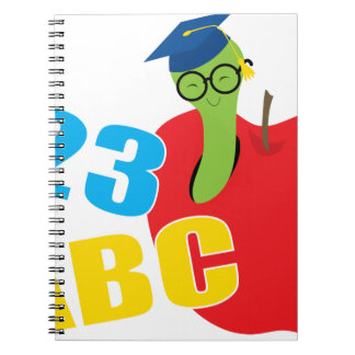 ABC Worm Notebook