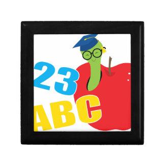 ABC Worm Small Square Gift Box