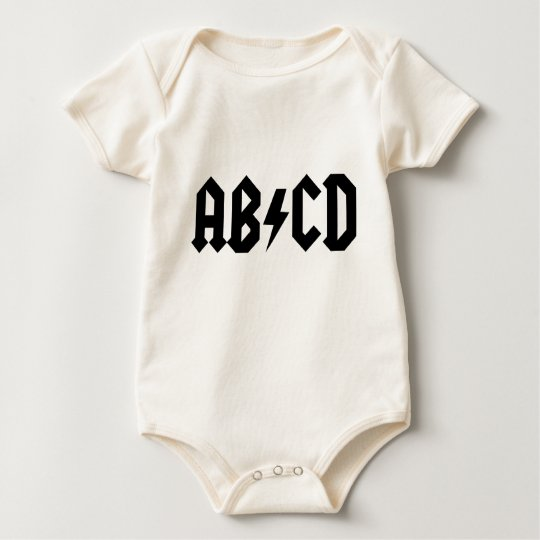 ABCD BABY BODYSUIT