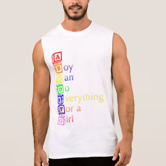 ABCDEFG (A Boy Can Do Everything For a Girl) Tee