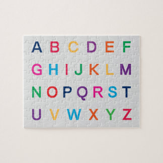 ABC's Alphabet learning colorful ABC letters Puzzles