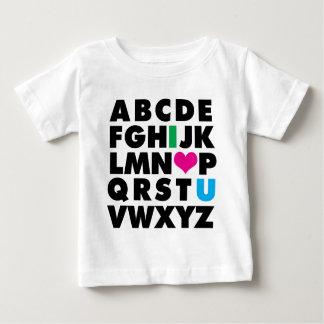 ABC's of Love Baby T-Shirt