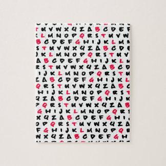 Abc's white puzzles