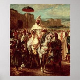 Abd Ar-Rahman  Sultan of Morocco Poster