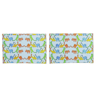 ABDL pillowcase set/ Two sides- Pink and Blue