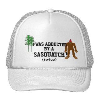 Abducted By A Sasquatch Cap
