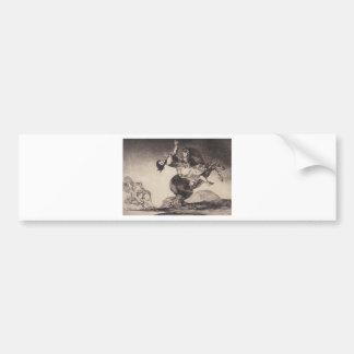 Abducting horse by Francisco Goya Bumper Sticker