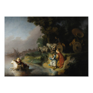 Abduction of Europa by Rembrandt Personalized Invite