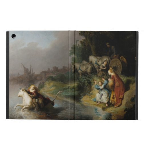 Abduction of Europa by Rembrandt iPad Air Case