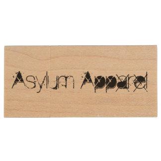 Abduction Wood USB Flash Drive