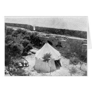 `Abdu'l-Baha's garden and tent in Akka Card