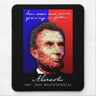 Abe Lincoln - Bicentennial Mouse Pad