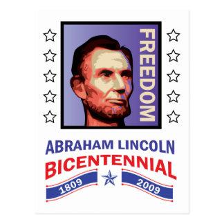 Abe Lincoln - Bicentennial Seal Postcard