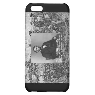 """Abe Lincoln """"Destroy Enemies"""" Wisdom Quote Gifts iPhone 5C Case"""