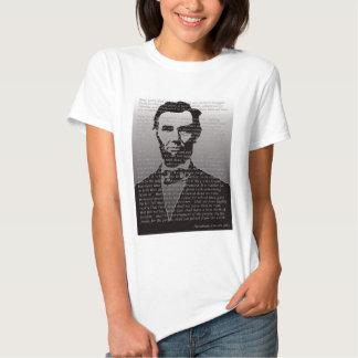 Abe Lincoln Gettysburg Address Tshirts