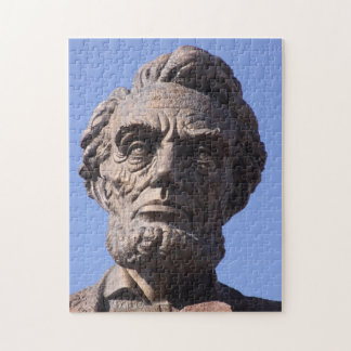 Abe Lincoln Memorial Monument in Wyoming Puzzle