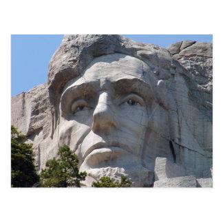 Abe Lincoln Postcard
