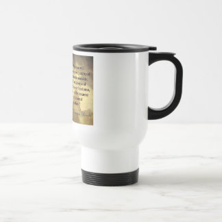 "Abe Lincoln Quote ""America will never be..."" Coffee Mug"