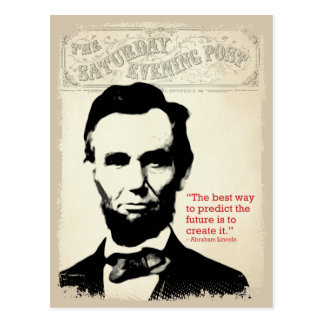 Abe Lincoln Quote Postcard