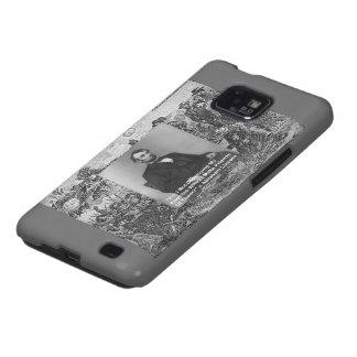 Abe Lincoln Samsung Galaxy Cell Case by Rick Londo Samsung Galaxy SII Case