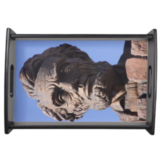 Abe Lincoln Serving Tray